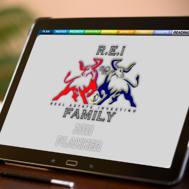 2021 REI Family  Intentional Digital Planner