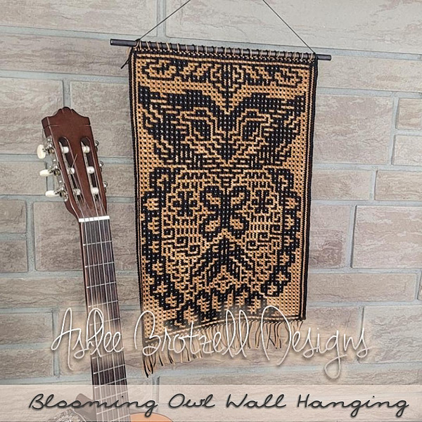 Ashlee Brotzell Designs Newest Pattern: Blooming Owl Wall Hanging Link Thumbnail   Linktree