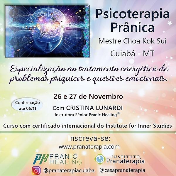 @pranaterapiacuiaba Curso Pranic Healing® Psicoterapia 26/27  de Novembro  Link Thumbnail   Linktree
