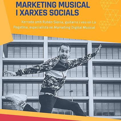 Xerrada Marketing Musical amb Rubén Sierra
