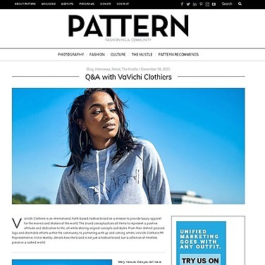 @VaVichiroyalty VaVichi Q&A with Pattern Magazine Link Thumbnail   Linktree