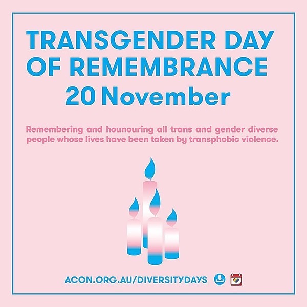 @ACONhealth Transgender Day of Remembrance Candlelight Vigil Link Thumbnail   Linktree