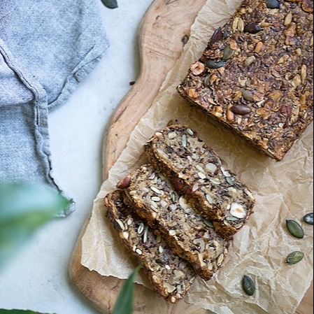 ceciliafolkesson.se Glutenfria bröd Link Thumbnail | Linktree