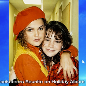 NBC Channel 8 Tampa | LINDSEY ALLEY talks Keri Russell, Christina Aguilera and new holiday album
