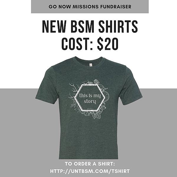 Buy a BSM T-shirt