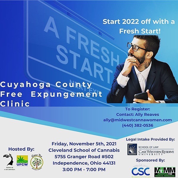 @MidwestCannaWomen Midwest CannaWomen X Green Tree Solutions X UFCW Cuyahoga County Free Expungement Clinic Link Thumbnail | Linktree