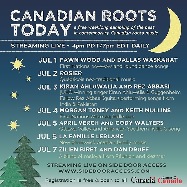 Canadian Roots Today (hearth_music) Profile Image | Linktree