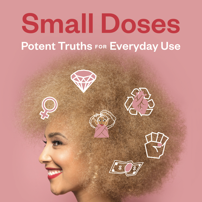 """Buy your copy of """"Small Doses: Potent Truths for Everyday Use!"""""""
