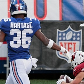 Giants Country Montre Hartage, DB  - 2021 Giants Training Camp Preview (photo by Vincent Carchietta-USA TODAY Sports) Link Thumbnail   Linktree