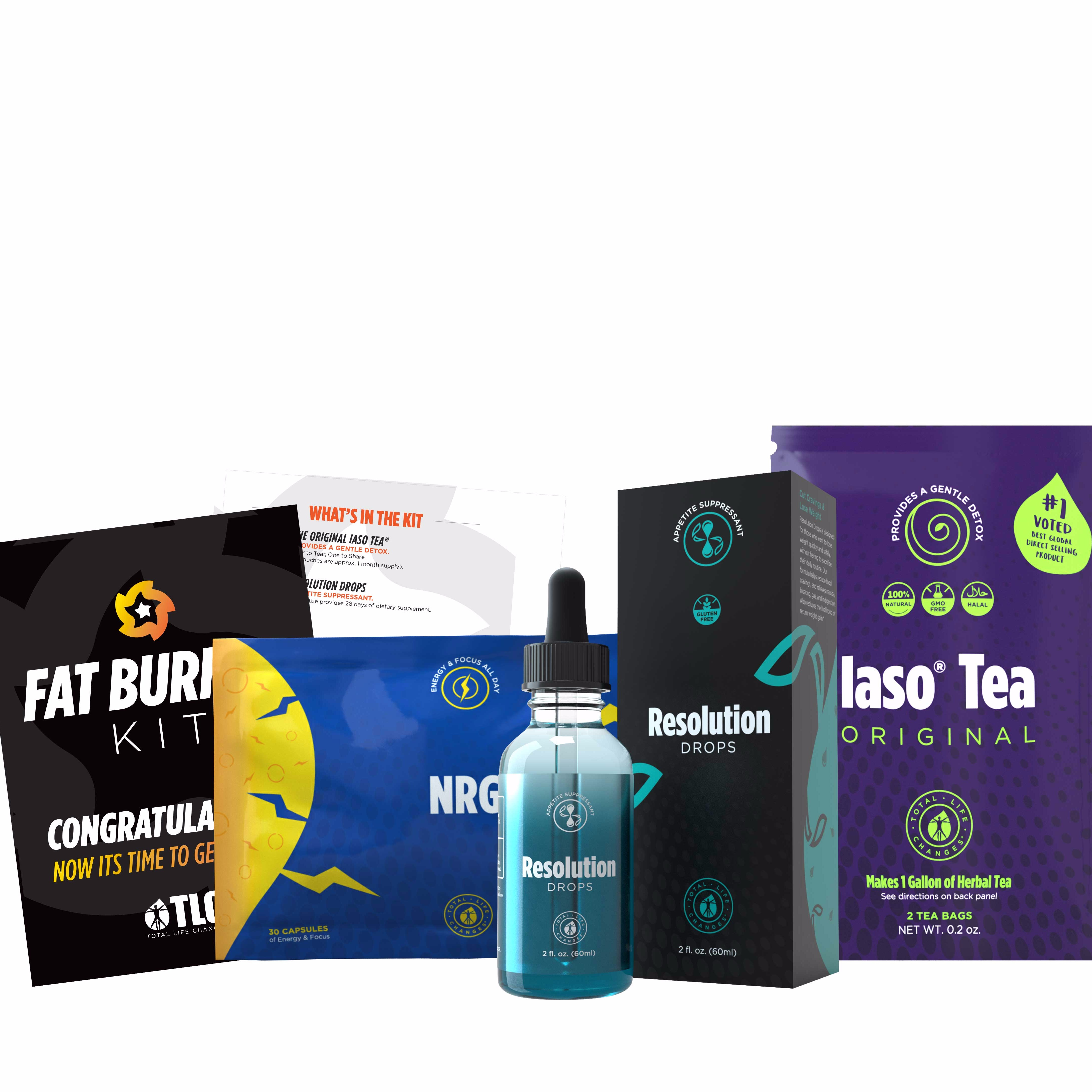 FAT BURNING KIT- FREE Meal Guide + Personal Coaching