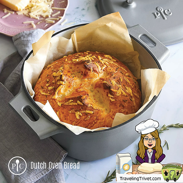 @TravelingTrivet 🚃 WELCOME! Dutch oven bread Link Thumbnail | Linktree