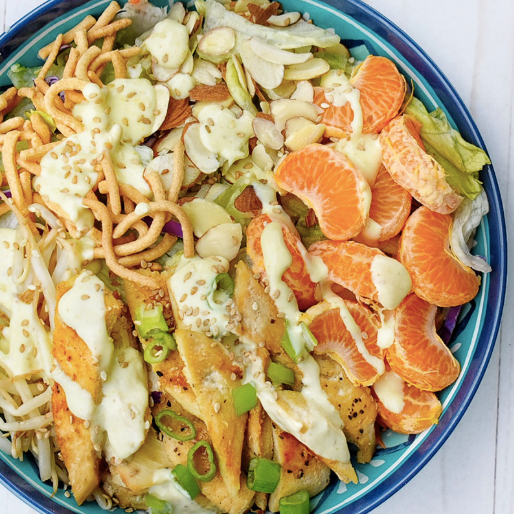 Chinese Grilled Chicken Salad Recipe