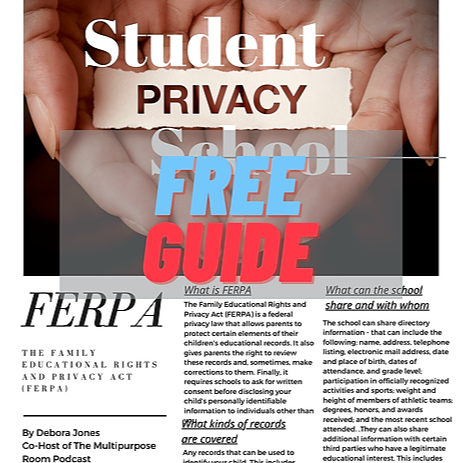 K-12 Clothing Free Parent Guide to Understanding Student Privacy Link Thumbnail | Linktree