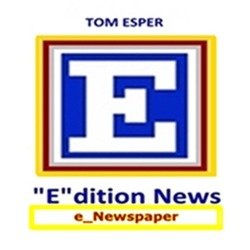 THOMAS J. ESPER READ The Best e_Newspaper:  TOM ESPER e_dition News  |  The Top Editor-Collected News  |  Updated Every Morning and Afternoon  Link Thumbnail | Linktree