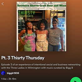 Three Ladies in Wilmington #thirstythursday Spotify playlist July 22 Link Thumbnail | Linktree
