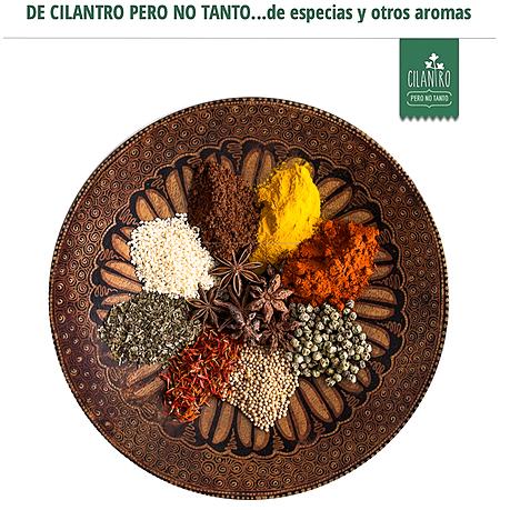 Conoce a algunos de tus aliados de tu cocina y de tu bienestar en mi blog Cilantro pero no tanto…de especias y otros aromas