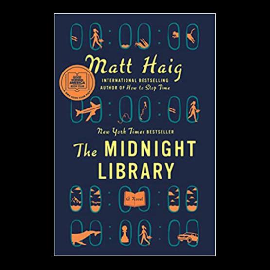 Shop Matt Haig's books US: Buy The Midnight Library on Apple Books Link Thumbnail | Linktree