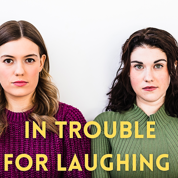 CC & Ollie Spotify/ In Trouble for Laughing Podcast  Link Thumbnail | Linktree