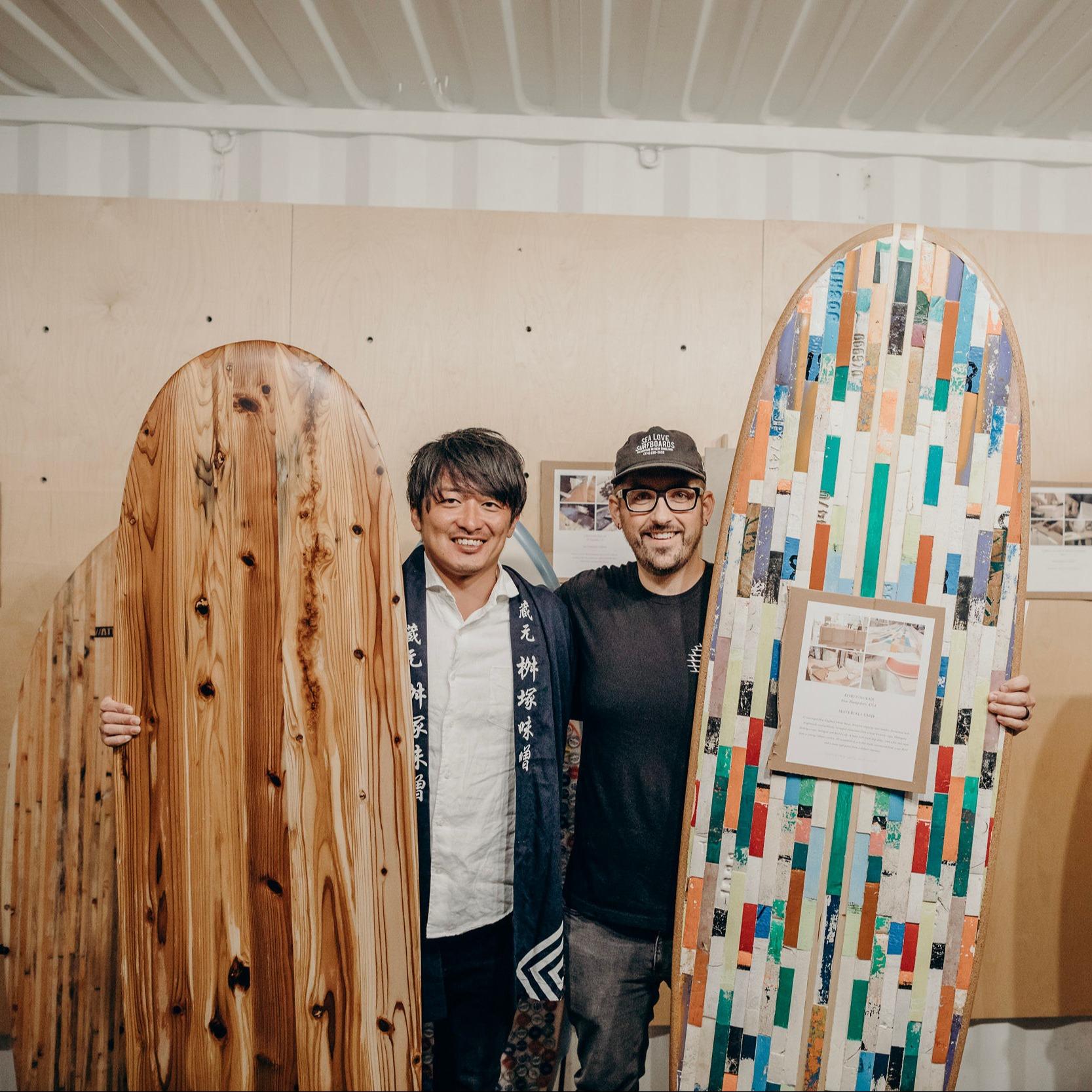 Surfrider x Vissla Upcycle Contest Winners