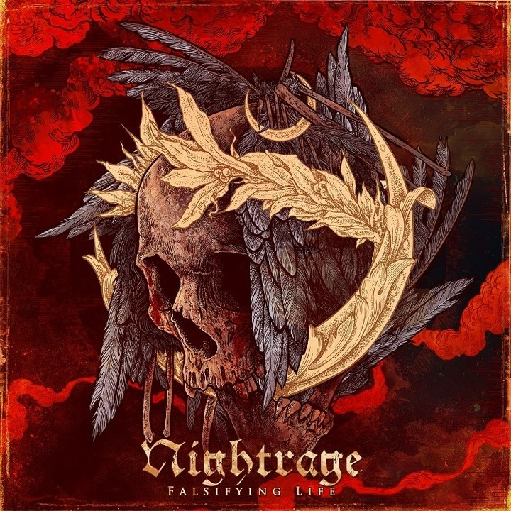 """Nightrage """"Falsifying Life""""  (Official audio video)"""