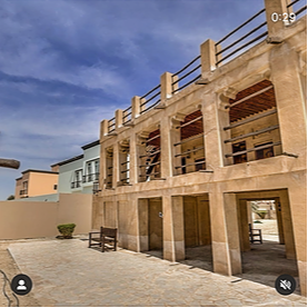 Virtual Tour at Umm Al Sheif Majlis - جولة افتراضية في غرفة مجلس أم الشيف