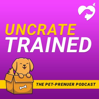Happy Hearts Pet Care Services UnCrate Trained Podcast Link Thumbnail | Linktree