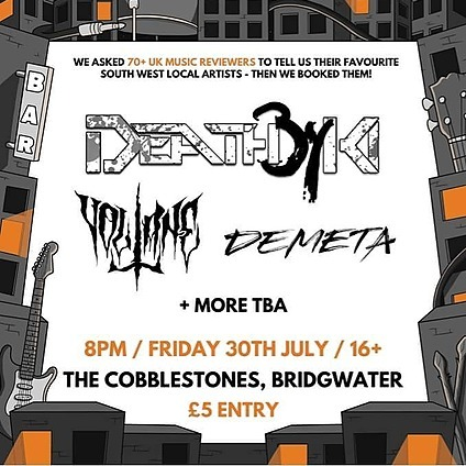 30th July - Metal Party (Bridgwater)
