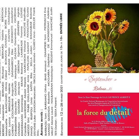 "Bolonie ""La Force du detail"" Aiap Monaco 2021 Link Thumbnail   Linktree"