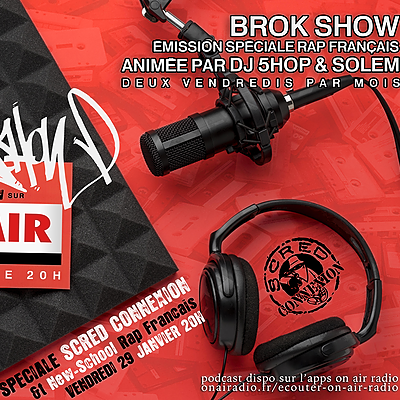 @brokshow Brok Show Spéciale Scred Connexion - 29.01.2021 Link Thumbnail   Linktree