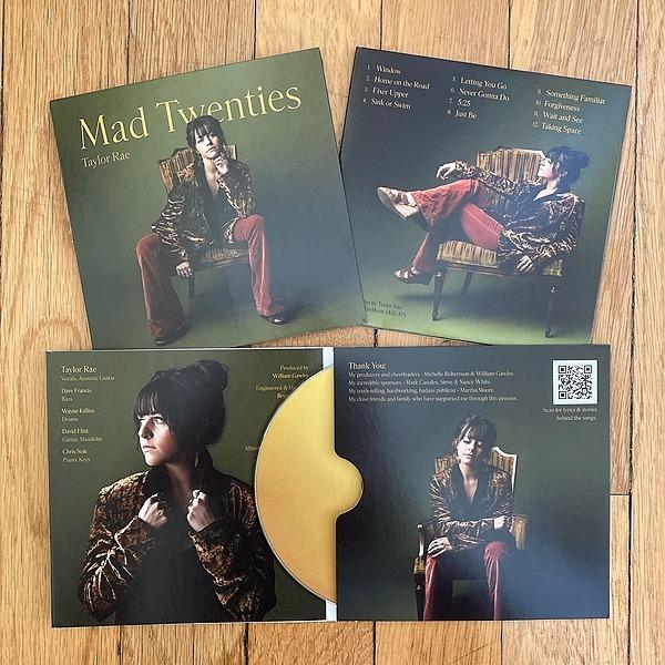 "@taylorraemusic Purchase ""Mad Twenties"" (CD, Digital Album, Stickers, Vinyl Pre-Order) Link Thumbnail | Linktree"
