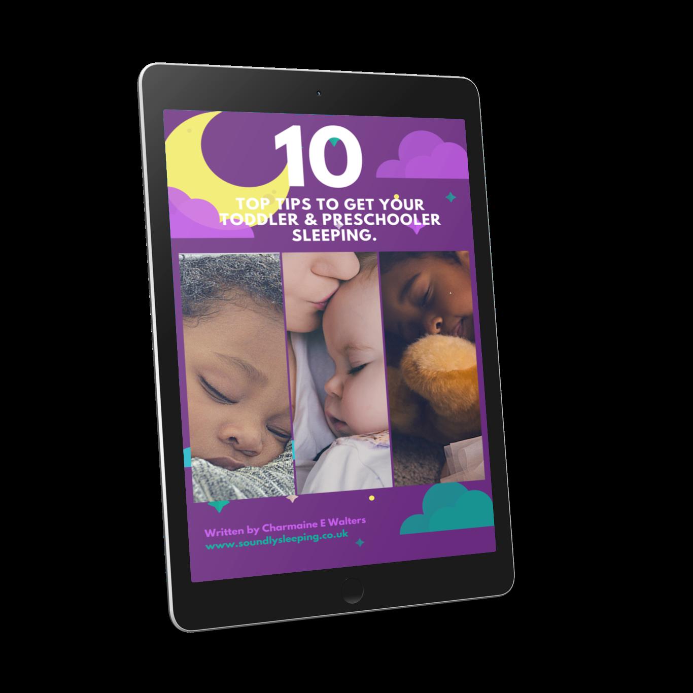 10 Top Tips Toddler eBook (Freebie)