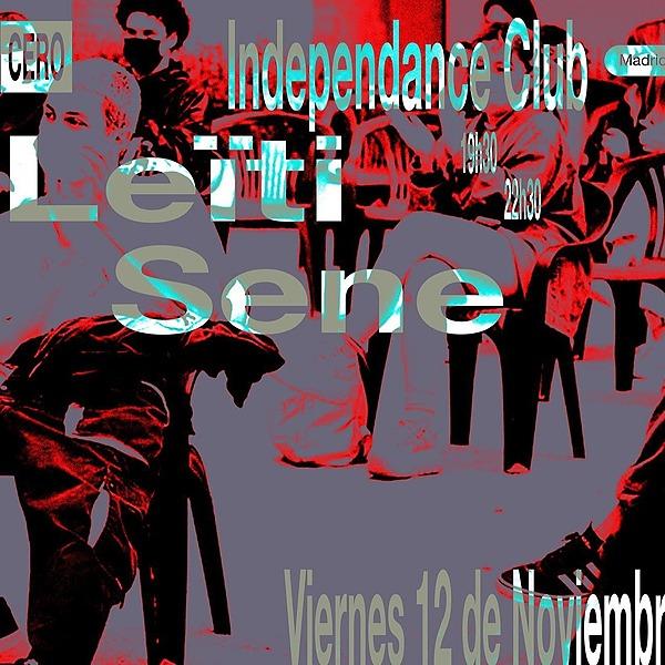 @cero.en.conducta Leïti Sene en Madrid (12.11, Independance) Link Thumbnail | Linktree