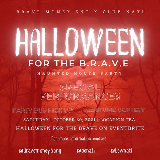 Lewnati Halloween for the BRAVE tickets 🎟 Link Thumbnail | Linktree