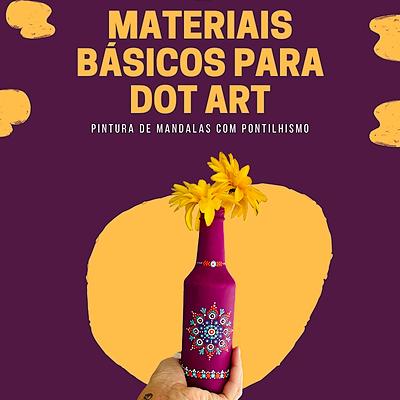 @dotsinabox E-Book | Materiais Básicos para Dot Art (português) Link Thumbnail | Linktree