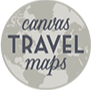 @laurenmary.co Canvas Travel Maps: personalized push pin travel maps Link Thumbnail | Linktree