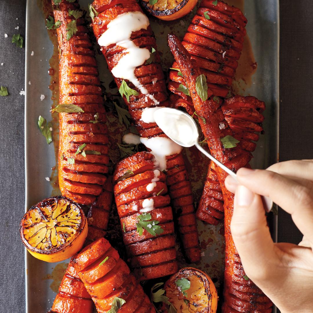 Hasselback Carrots Recipe