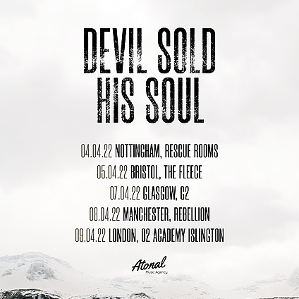 Devil Sold His Soul London - 09/04/22 Link Thumbnail | Linktree