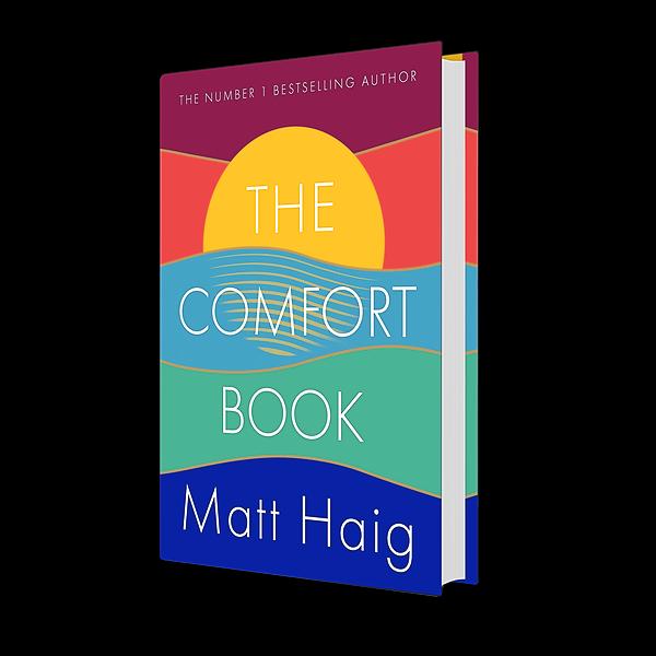 Shop Matt Haig's books UK: Buy The Comfort Book on Bookshop.org Link Thumbnail | Linktree
