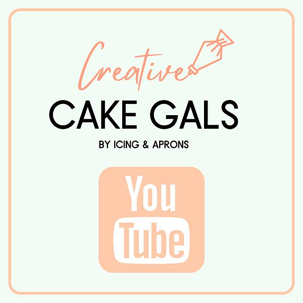 CREATIVE CAKE GALS  YOUTUBE