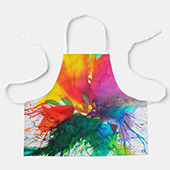 #painting #kitchenanddining 🎨 Cooking Aprons for children