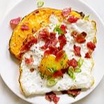 WW Bacon, Egg, and Cheese, Sweet Potato Toast Recipe