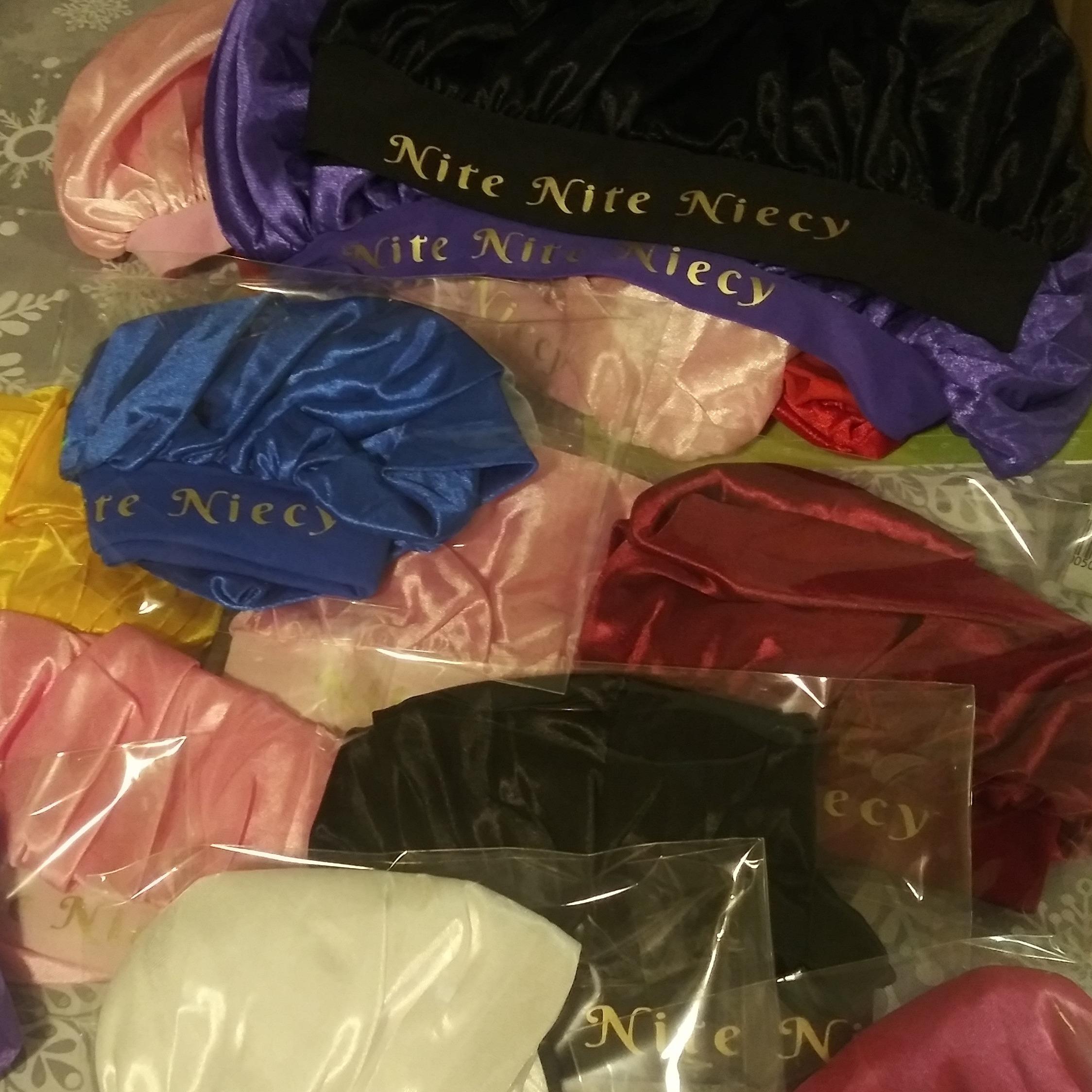 @IzeyGlo Izey Glo Nite Nite Niecy Bonnet $5/$8/$10 Link Thumbnail | Linktree