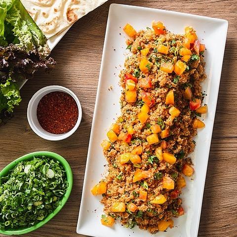 Andrew Janjigian (@wordloaf) Serious Eats: Eetch (Armenian Bulgur, Tomato, and Herb Salad) Link Thumbnail | Linktree