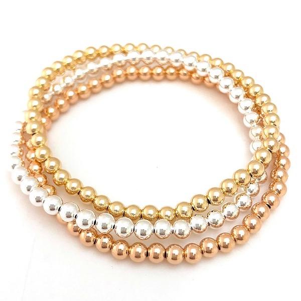 FROSTINGJEWELRY Bracelet Stack: Gold, Silver & Rose Gold Link Thumbnail   Linktree
