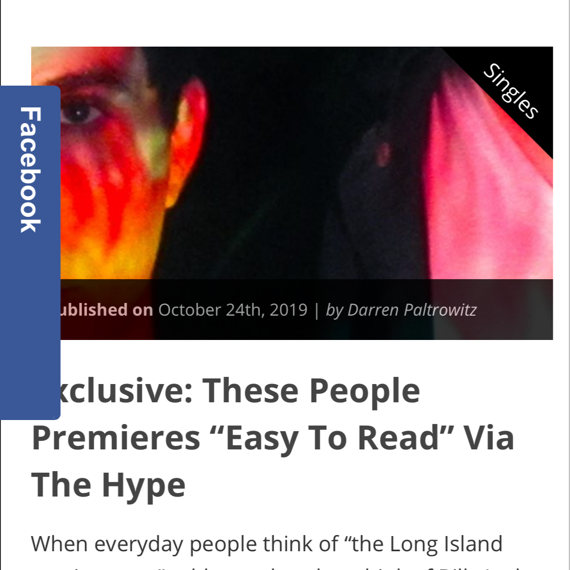 Hype magazine song premiere