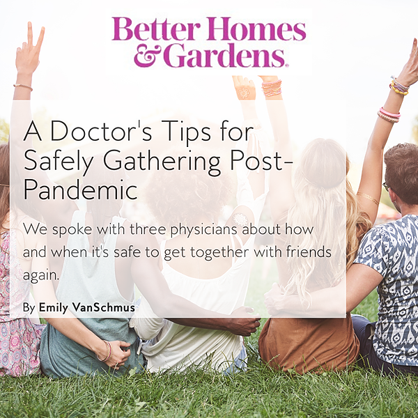 @drdyanhes BH&G Doctor's Tips for Safely Gathering Post-Pandemic Link Thumbnail | Linktree