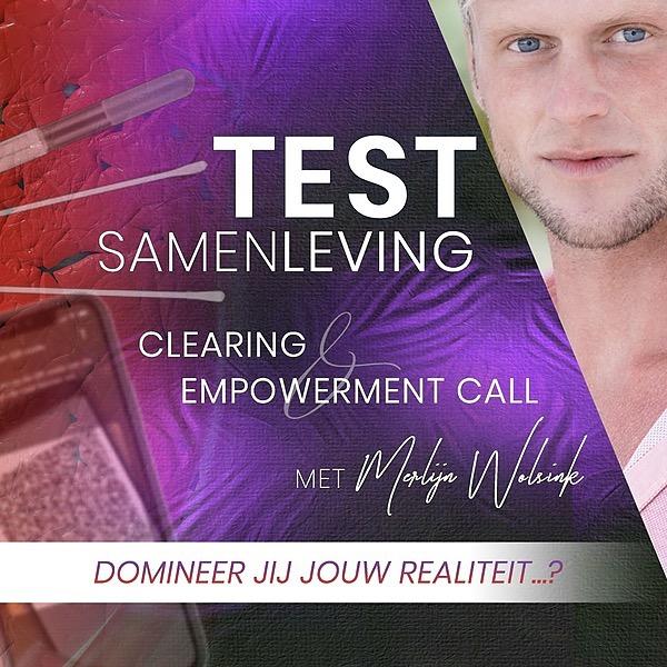 @merlijnwolsinknl TESTsamenleving Clearing & Empowerment Call Link Thumbnail | Linktree