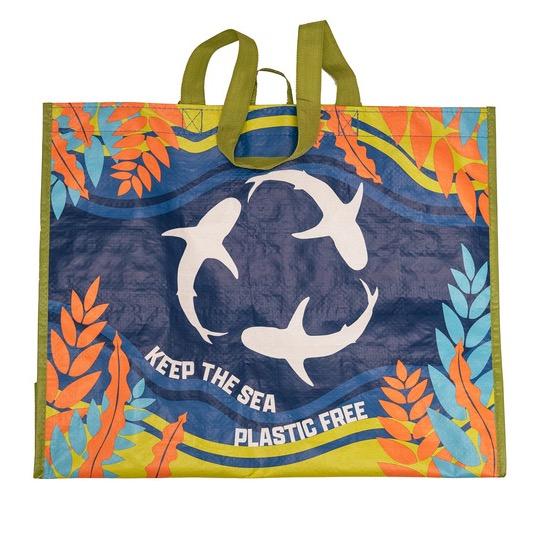Harmons Grocery Harmons Oceanwise Reusable Bag -  Living Planet Aquarium Link Thumbnail | Linktree