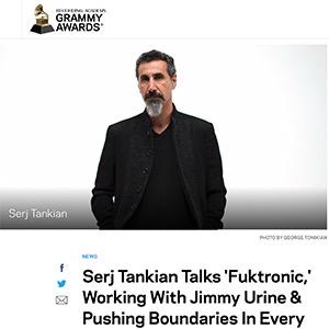 Grammy Website Interview with Serj Tankian