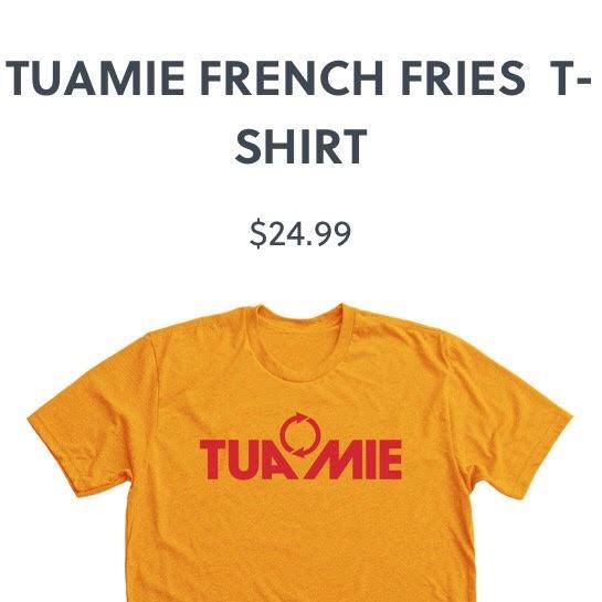 TUAMIE FRENCH FRY T-SHIRT